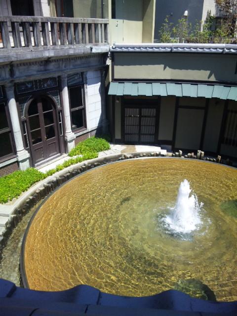 五龍閣 噴水