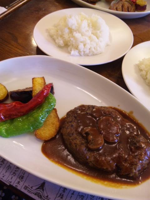 京野菜ハンバーグ