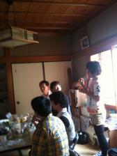 いのちお茶会2012.10.08 ふーみん