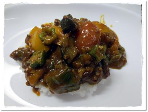 2012・8・2・夏野菜カレー