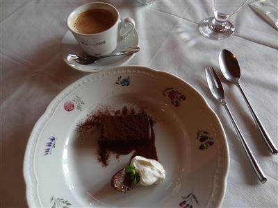 フィオレンティーナランチのドリンクとデザート
