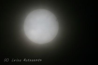 金星の日面通過 2