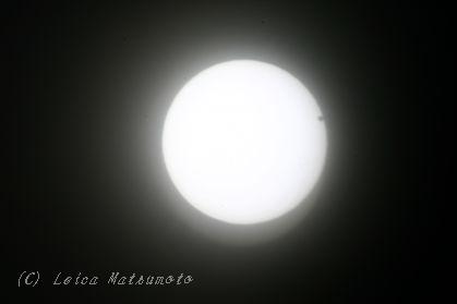 金星の日面通過 4