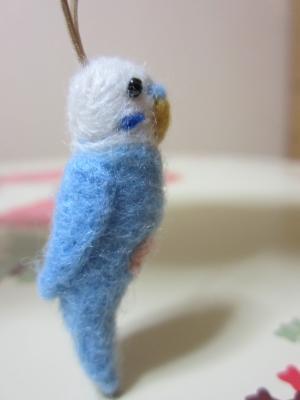 羊毛フェルトインコちゃん