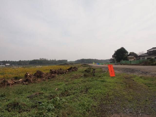 猿島岩井インター方面。
