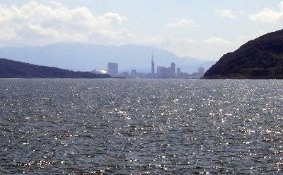 博多湾眺望