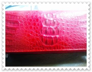 クロコ財布1