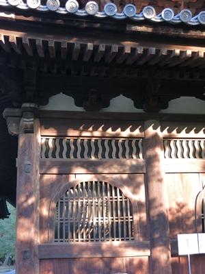 大徳寺法堂欄間1312
