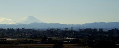 病院から見た富士山~