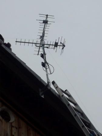 テレビ大阪アンテナ追加工事