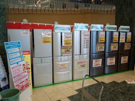 合同展示会設営冷蔵庫ブース