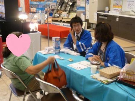 ⑤浅田君も接客が板について来ちゃってます