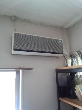 エアコン室内機ビフォー