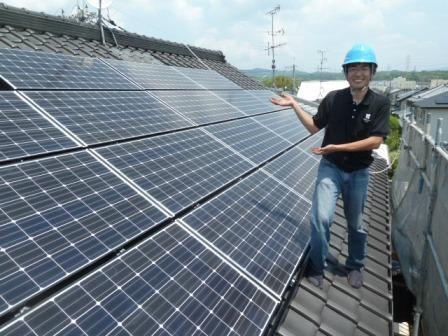 ⑳太陽光発電はてくのハウスMAKINO城陽店で