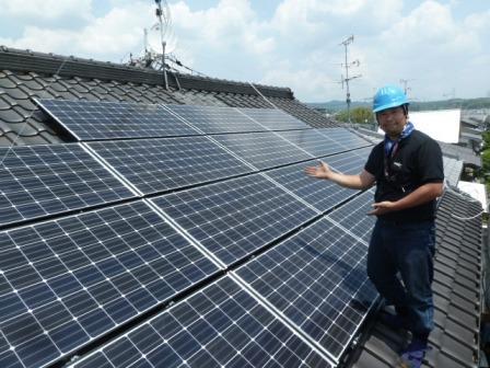 ⑭太陽光発電は当店にご用命ください!!