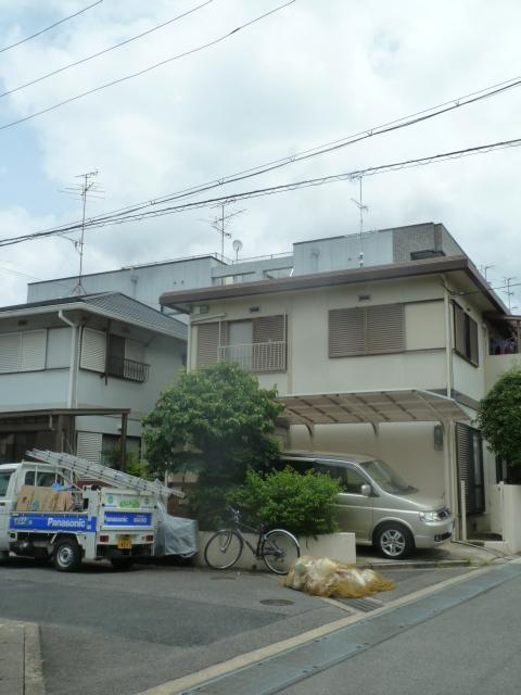 小倉町東山 M様アンテナ工事