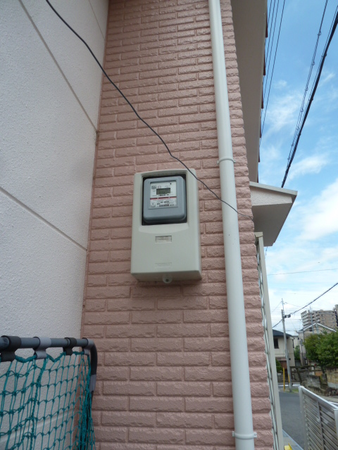 20既存の電気メーターです