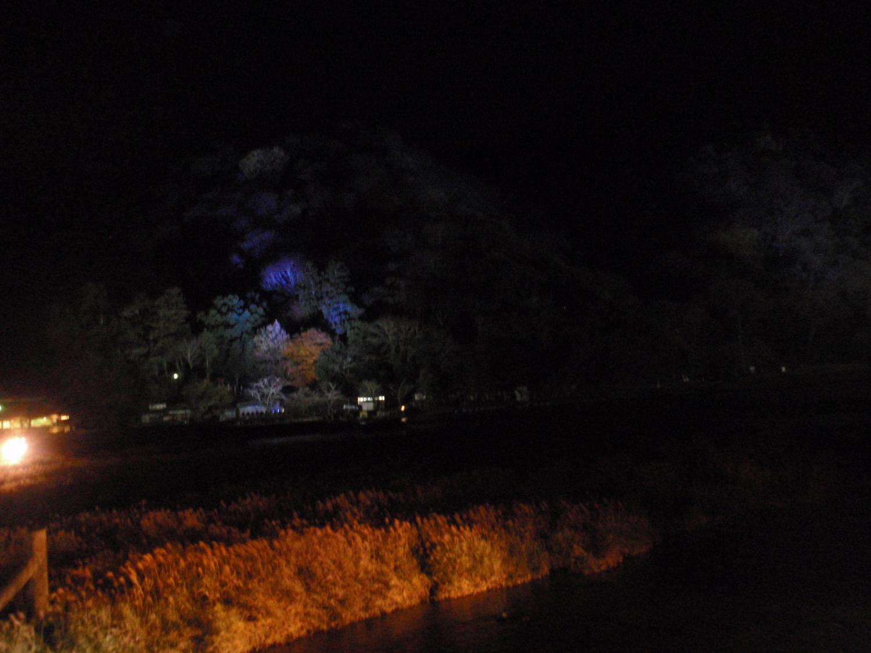 花灯路・嵐山と桂川