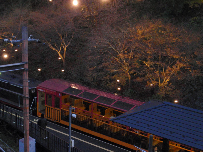 花灯路・トロッコ嵐山駅