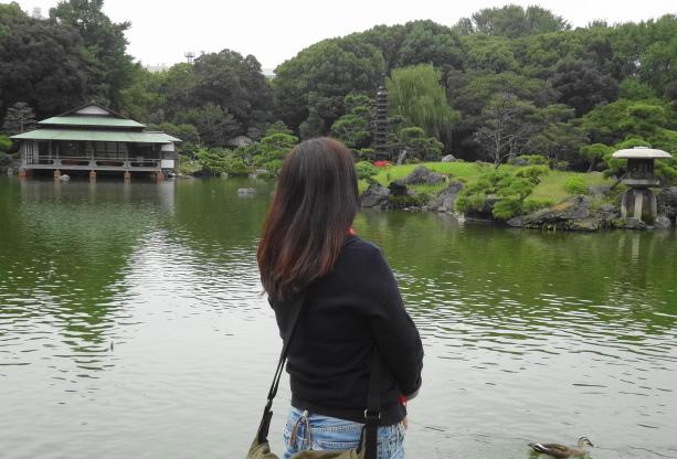 1清澄庭園
