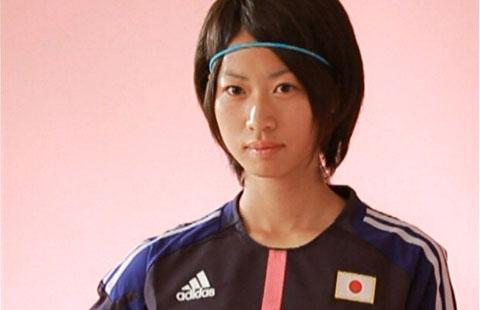 田中陽子 : 可愛い女子サッカー...