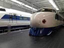 新幹線と言えばこのイメージかな?でもあまり乗ったことがない
