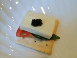 ミントが若干きついけど、久々に感激するチーズの美味しさだね