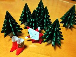 調子に乗っていっぱいもみの木を作ってしまった(~_~;)