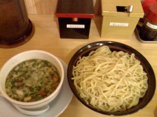 大伸・つけ麺(特盛+1玉)
