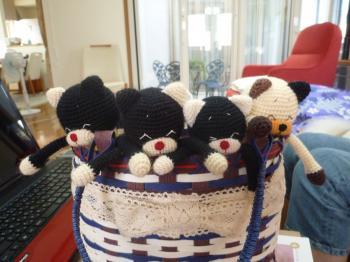 編みねこモカ