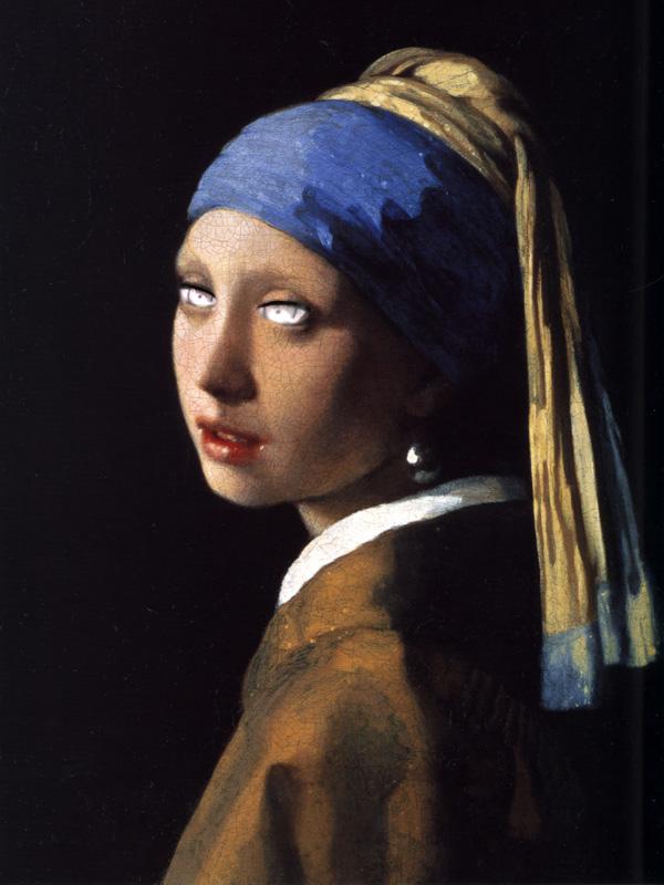 モリアンの目の真珠の耳飾りの少女
