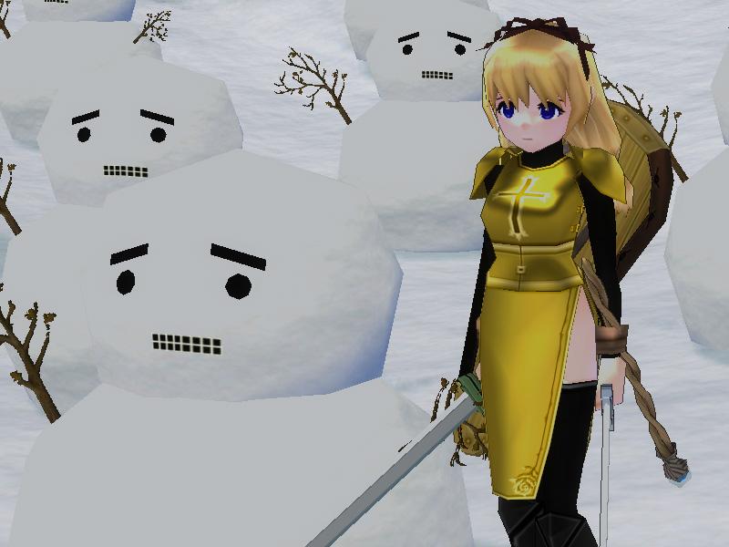 G1雪だるま1