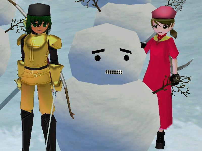 G1雪だるま2