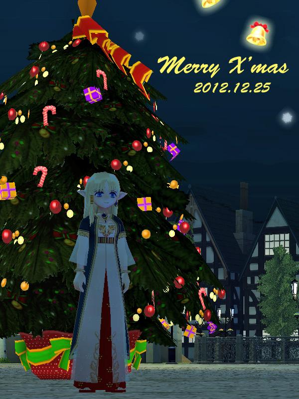 クリスマスツリー2012-2