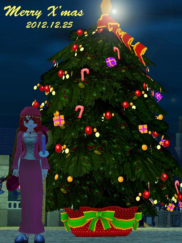 クリスマスツリー2012-1