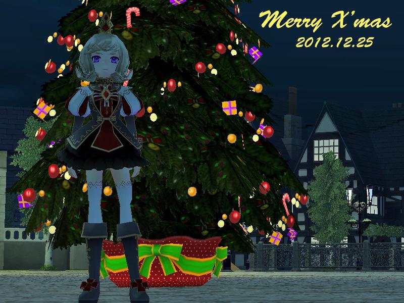 クリスマスツリー2012-4