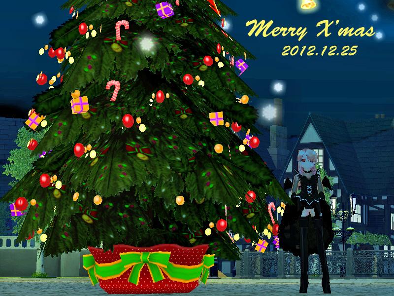 クリスマスツリー2012-5