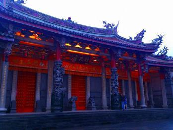 台湾旅行 行天宮
