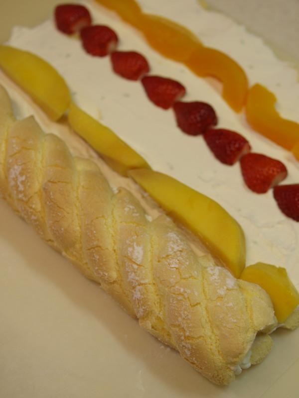 ロールケーキ工程3