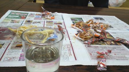 乾物のみの飲み会(25.11.29)