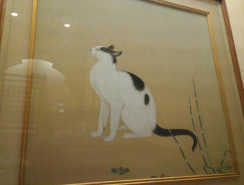 猫の日本画(25.12.6)