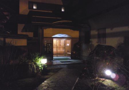 柳長入り口(25.12.6)