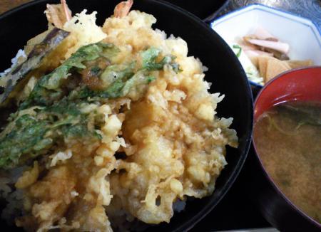 しんしゅうの天丼(25.12.6)