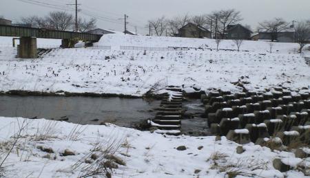 冬の川原橋(千歳橋)(25.12.26)