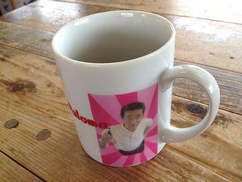 社長オリジナルカップ?