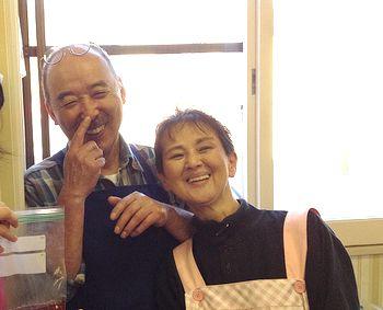 池田鮮魚店ご夫妻^^