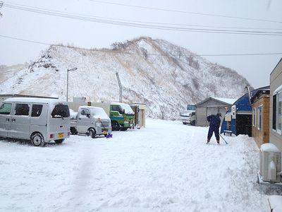 お正月の雪かき