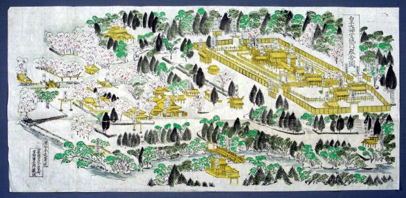 ブログ伊勢神宮内宮の境内図20141025