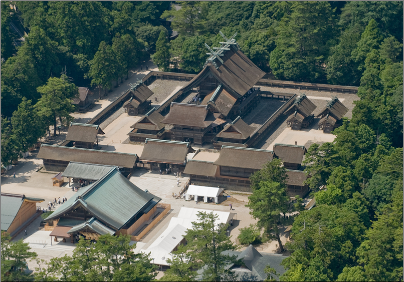 ブログ出雲大社全景写真20141024