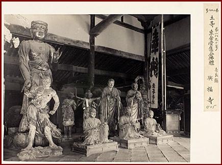 a3興福寺東金堂阿修羅明治